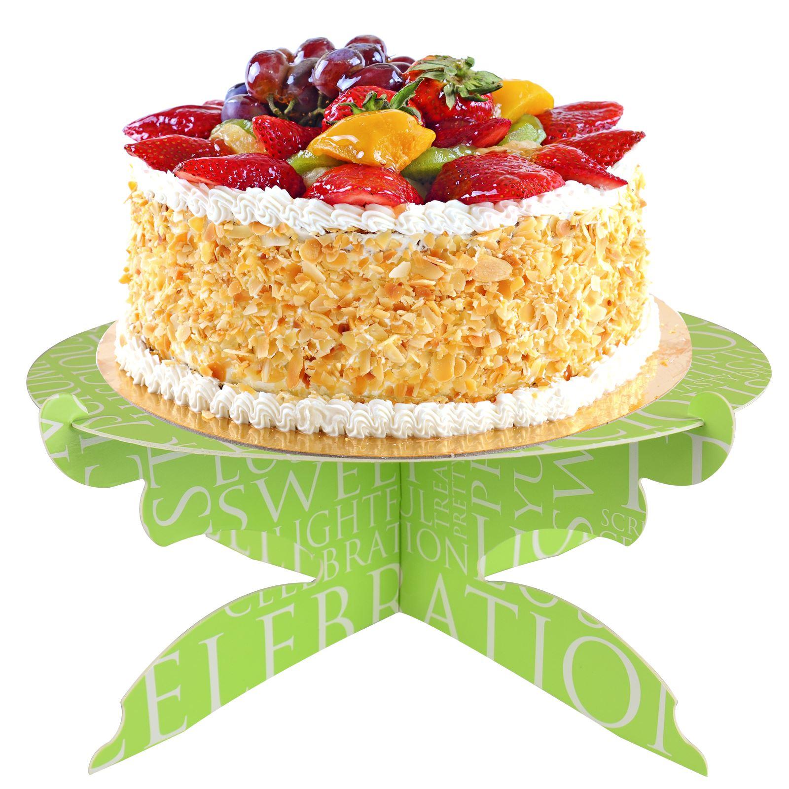 Cardboard Cup Cake Stand Food Serving Shop Window Display Birthday