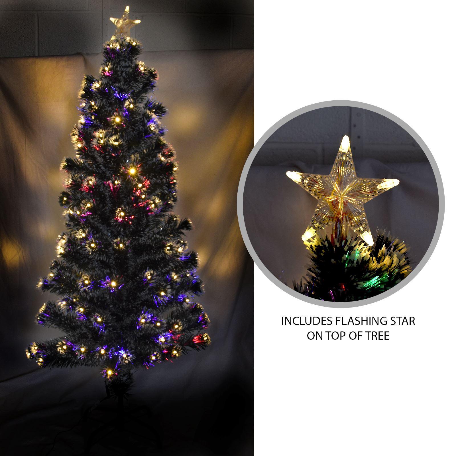 Artificial Green Xmas Trees Festive Snow Tipped Pine Cone Christmas