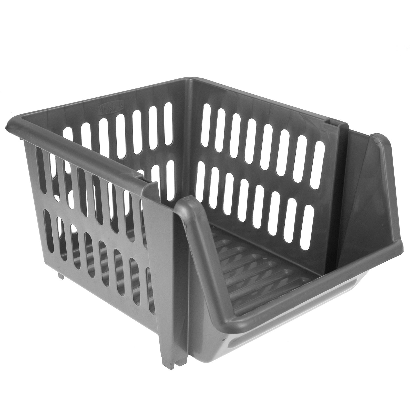 3-Tier-Plastic-Stacking-Basket-Set-Kitchen-Office-Storage-Rack-Stackable-Boxes thumbnail 10