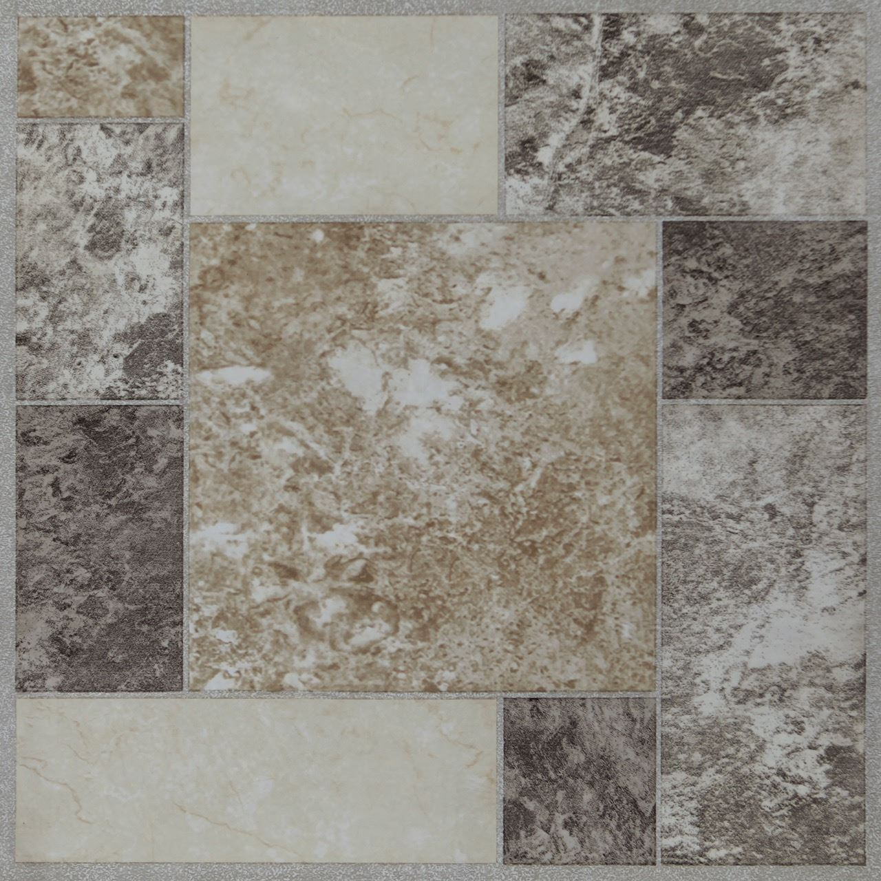 4 X Vinyl Self Adhesive Floor Tiles Peel Stick Flooring