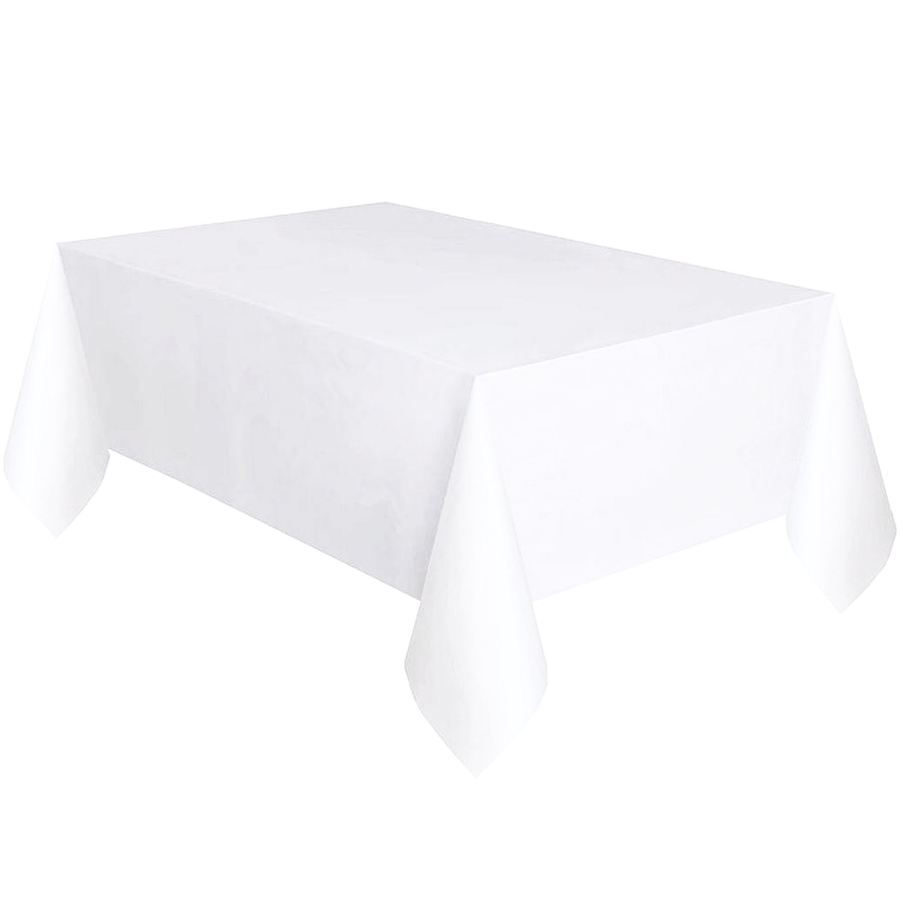 Superbe Plastic Table Cover Cloth Square Reusable Wipe Clean
