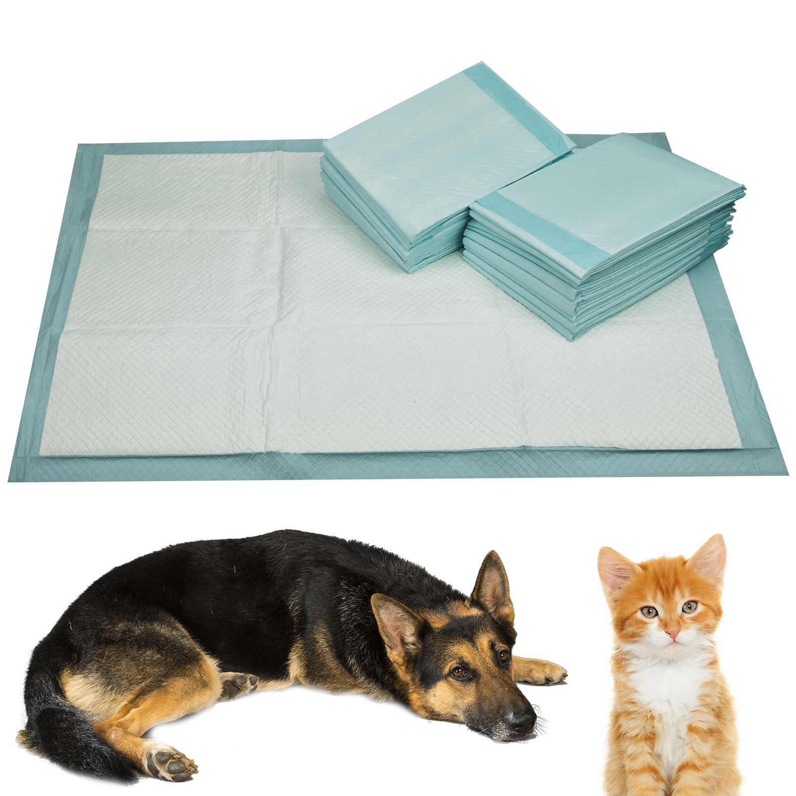 My Dog Peed On My New Rug: Large Puppy Training Pads Mat Dog Super Absorbent Toilet