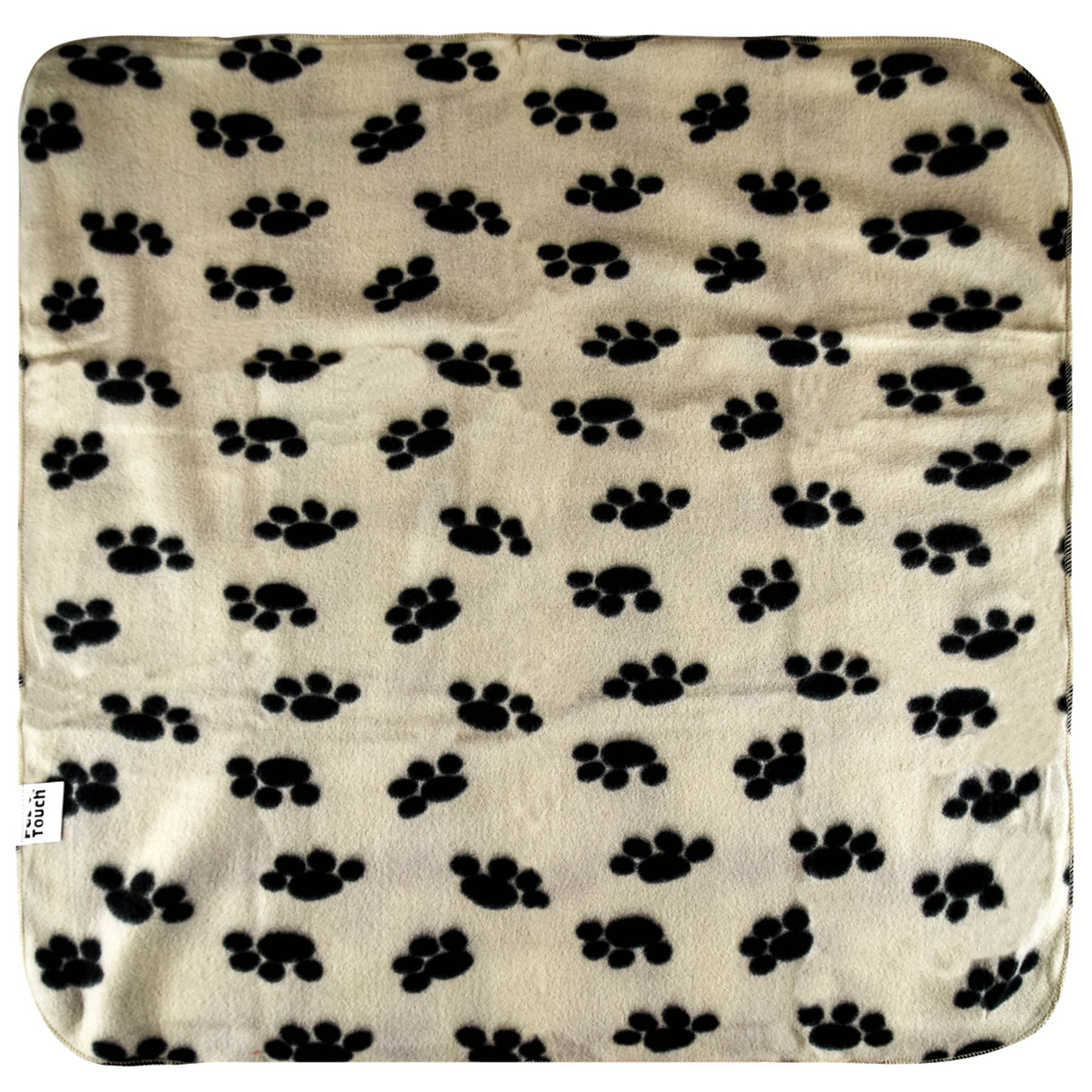 Pet-Blanket-Dogs-amp-Puppy-Cat-Paw-Print-Soft-Warm-Fleece-Bed-Travel-Basket-Car thumbnail 8