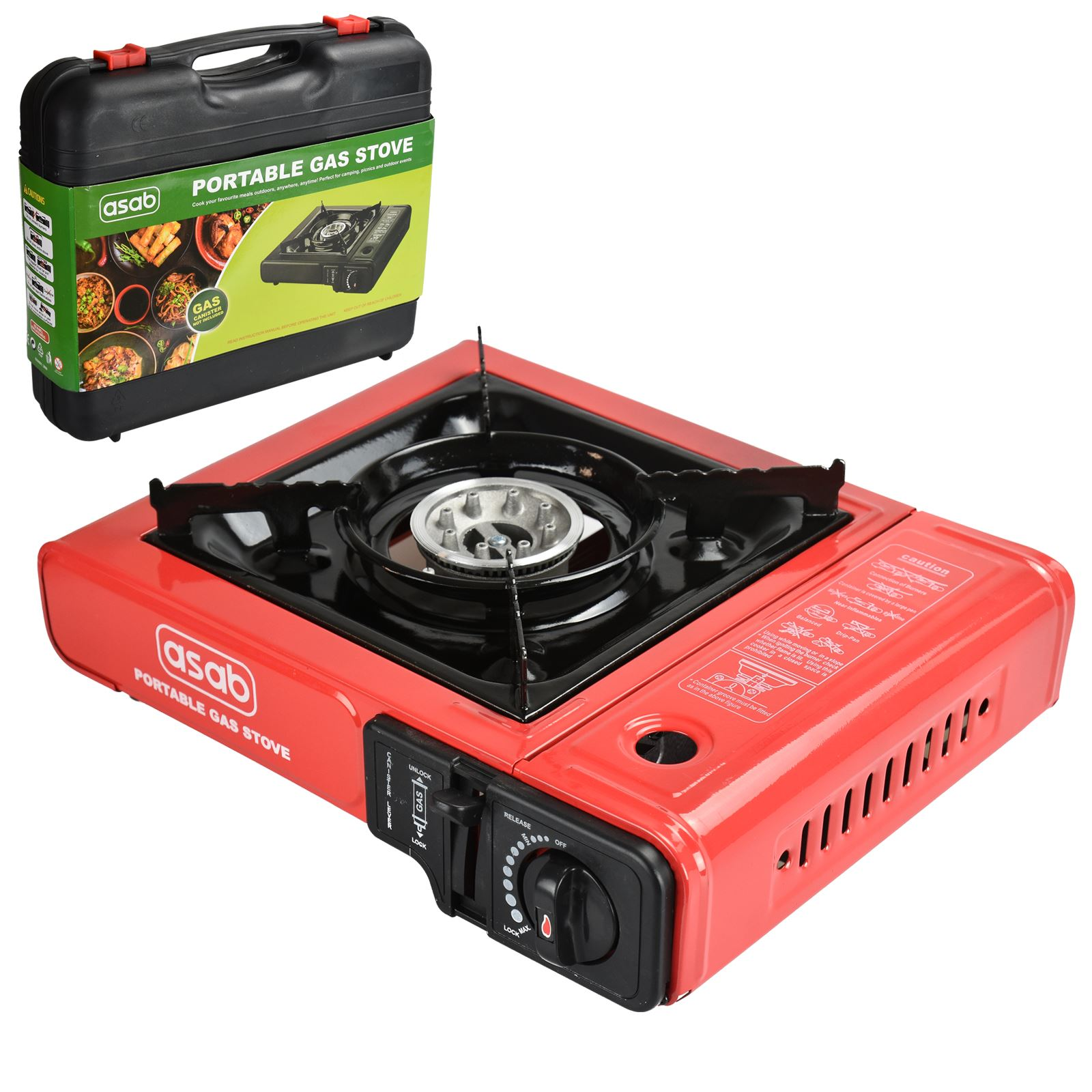 Portable Camping Gas Cooker Single Burner Stove Butane