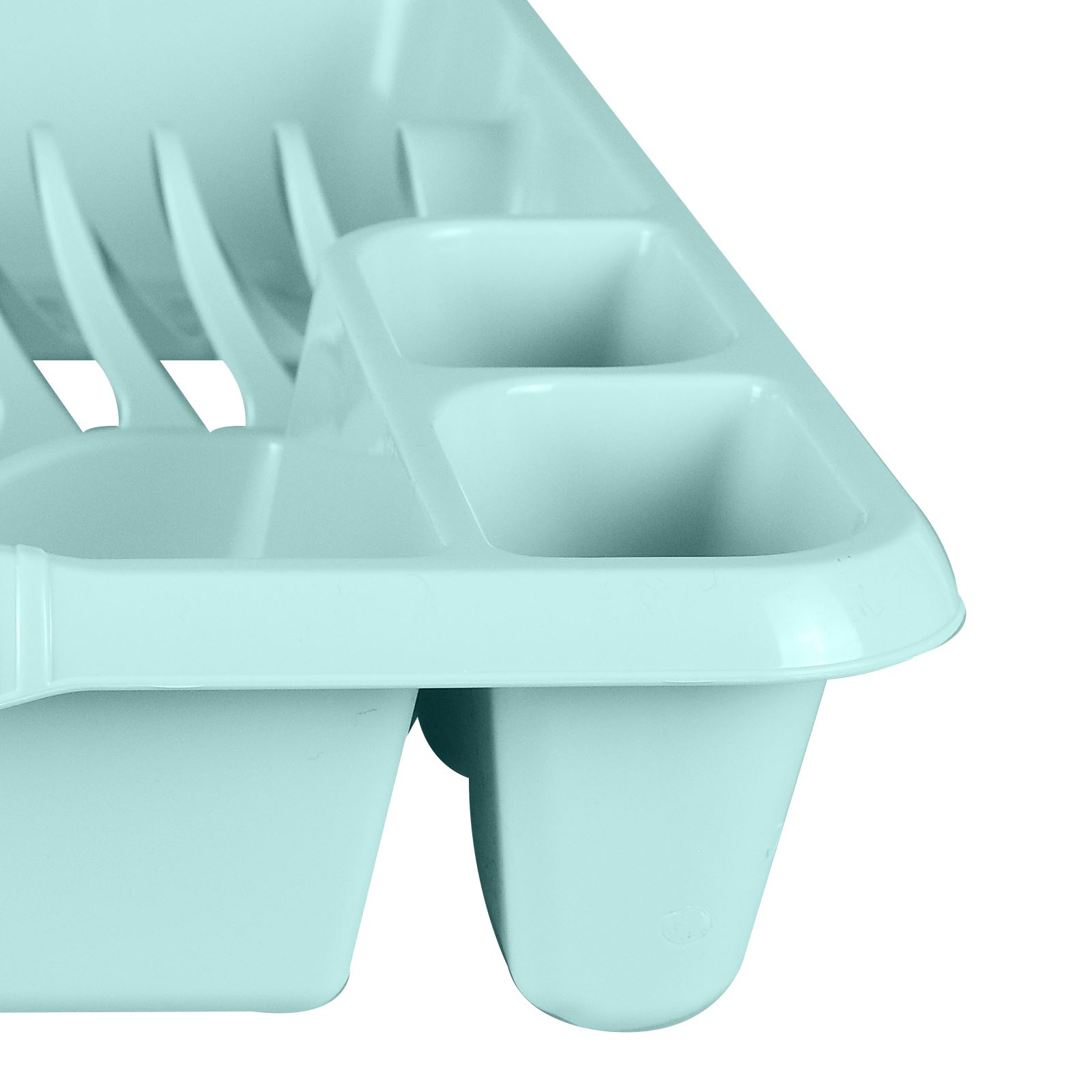 Large Plastic Dish Drainer Board Plate Cutlery Sink Rack Holder ...