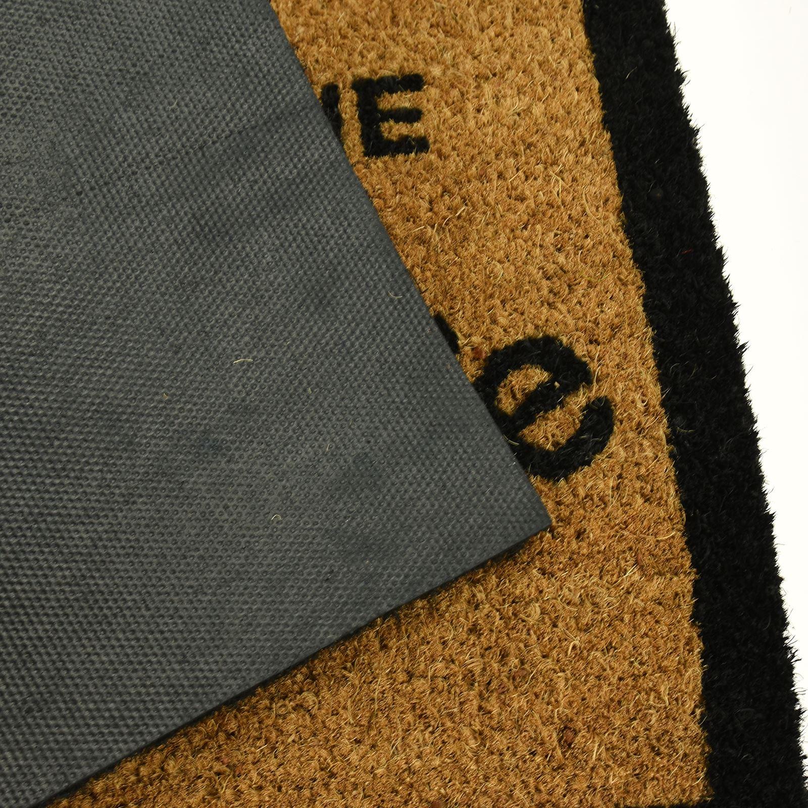 Large Welcome Door Entrance Mat Indoor Outdoor Non Slip