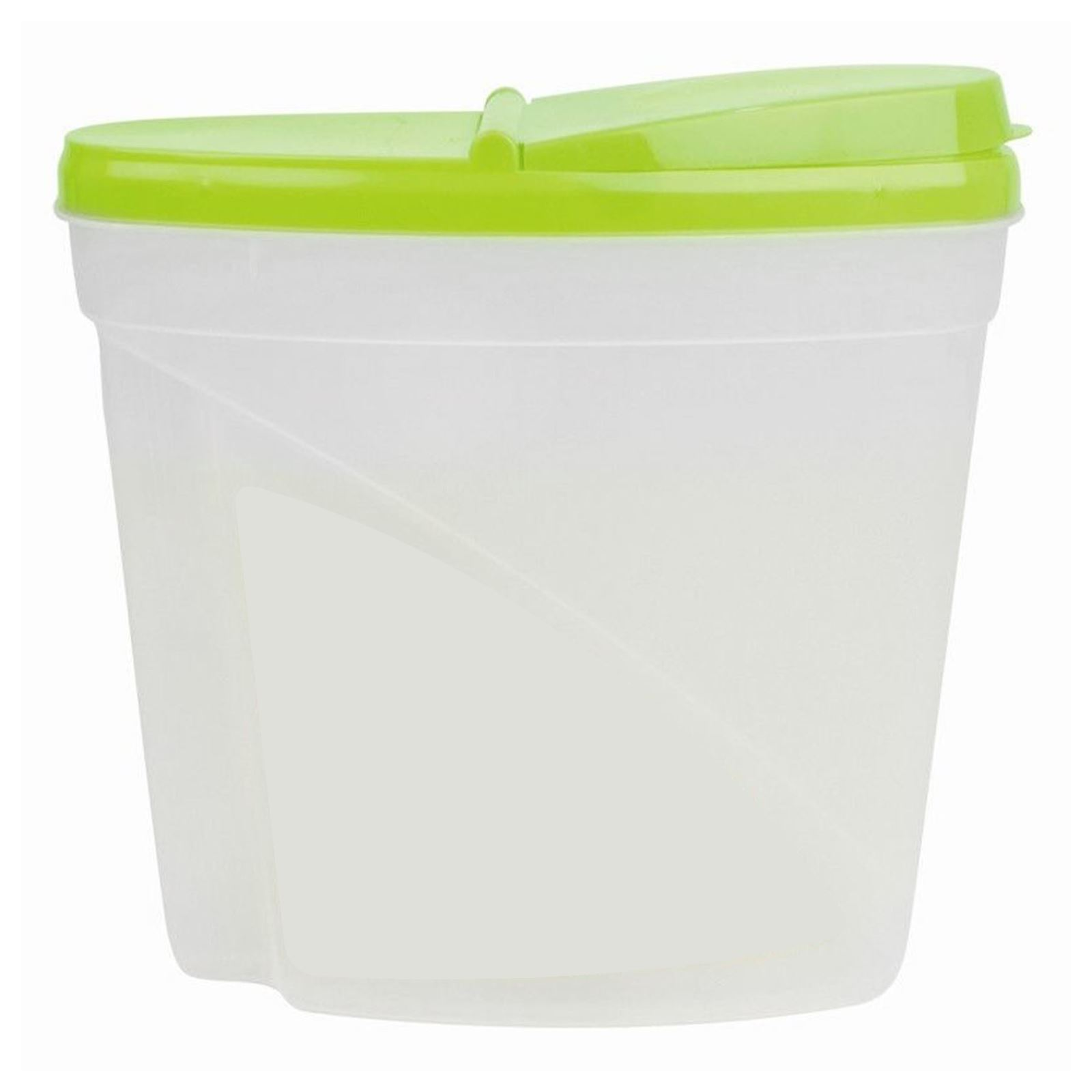 35L Dry Food Storage Container Large Plastic Box Cereal Dispenser
