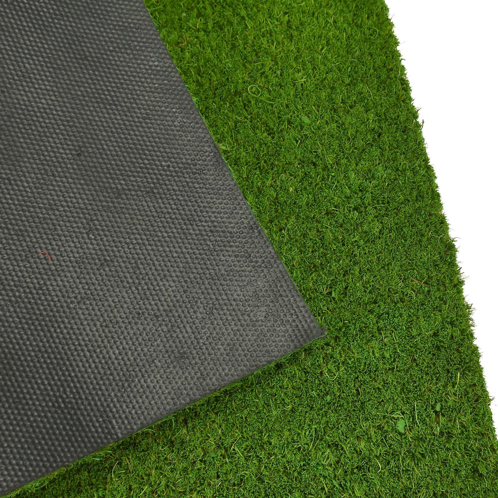 Plain-Non-Slip-Door-Mat-Tough-Natural-Coir-PVC-Back-Welcome-Doormat-40-x-60cm miniatura 66