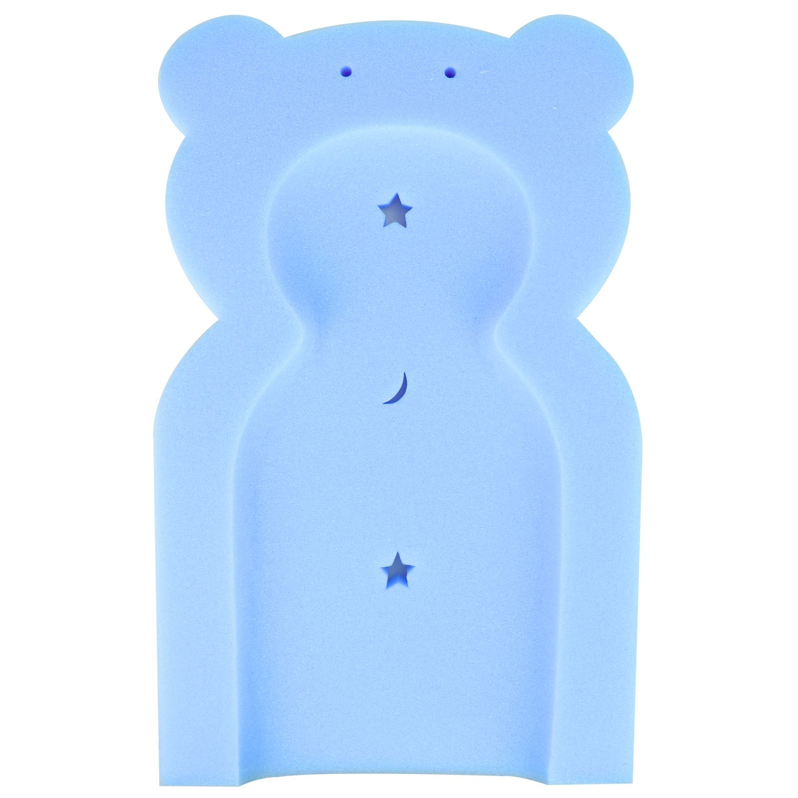 Baby Teddy Bear Bath Sponge Support Foam Mat Toddler From Newborn 0 ...