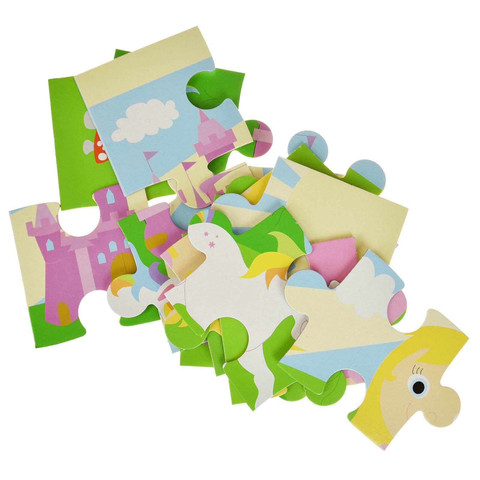 16pc-Mon-Premier-Puzzle-Enfants-educatif-Problem-Solving-jeu-jouet miniature 6