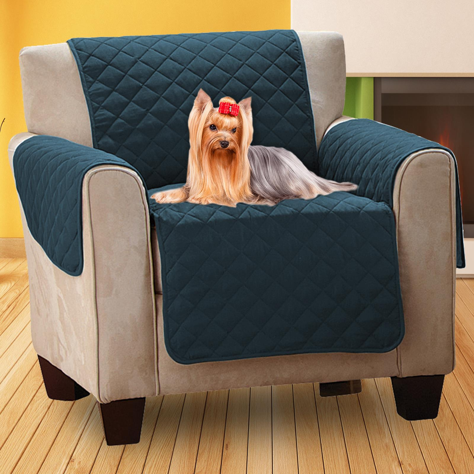 Superb Details About Luxury Quilted Pet Sofa Cover Furniture Throw Chair Stain Dust Hair Protection Squirreltailoven Fun Painted Chair Ideas Images Squirreltailovenorg