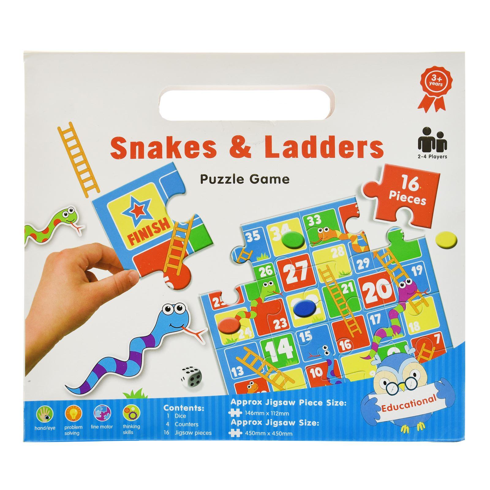 16pc-Mon-Premier-Puzzle-Enfants-educatif-Problem-Solving-jeu-jouet miniature 10