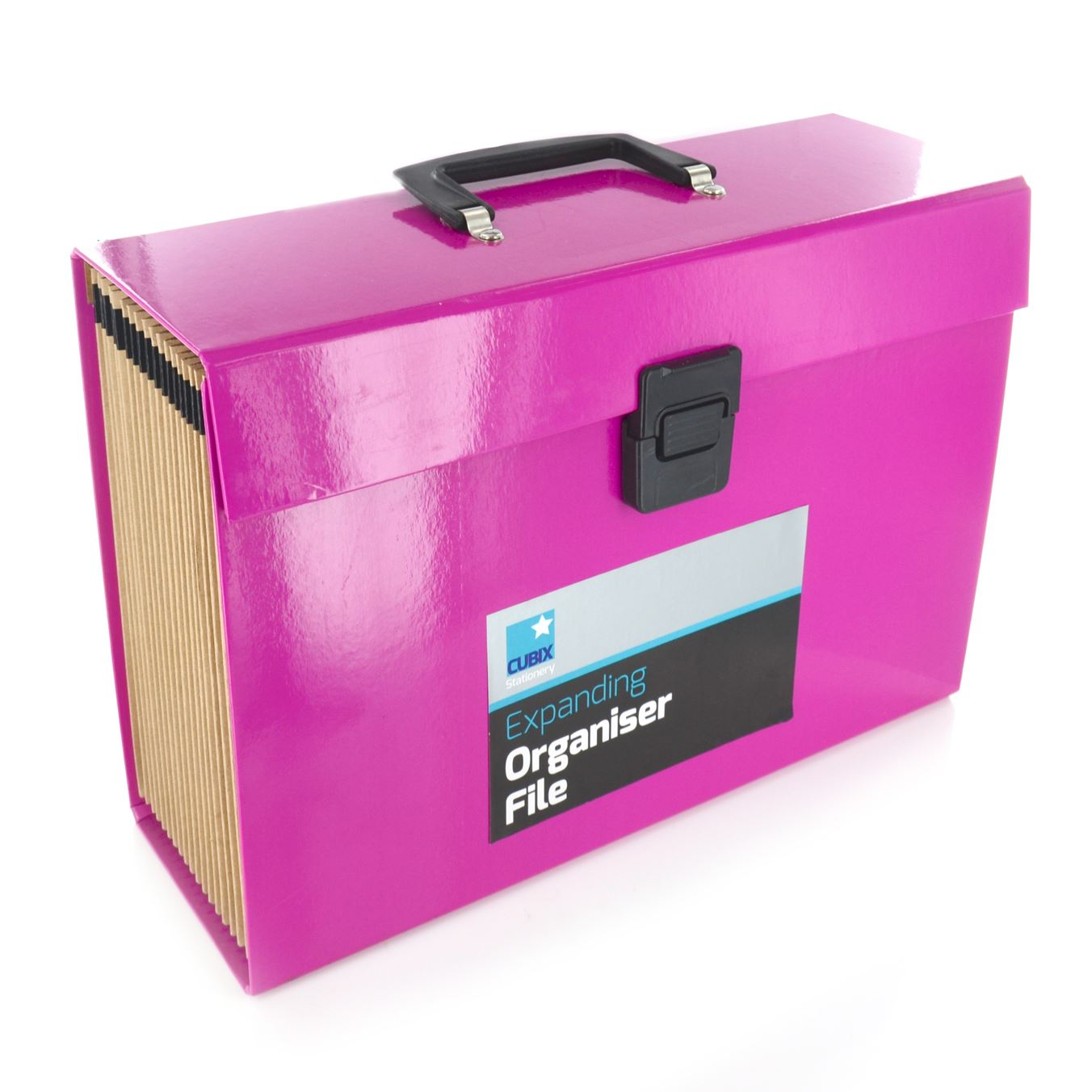 19 pocket expanding box file organiser a4 paper documents for Box documents