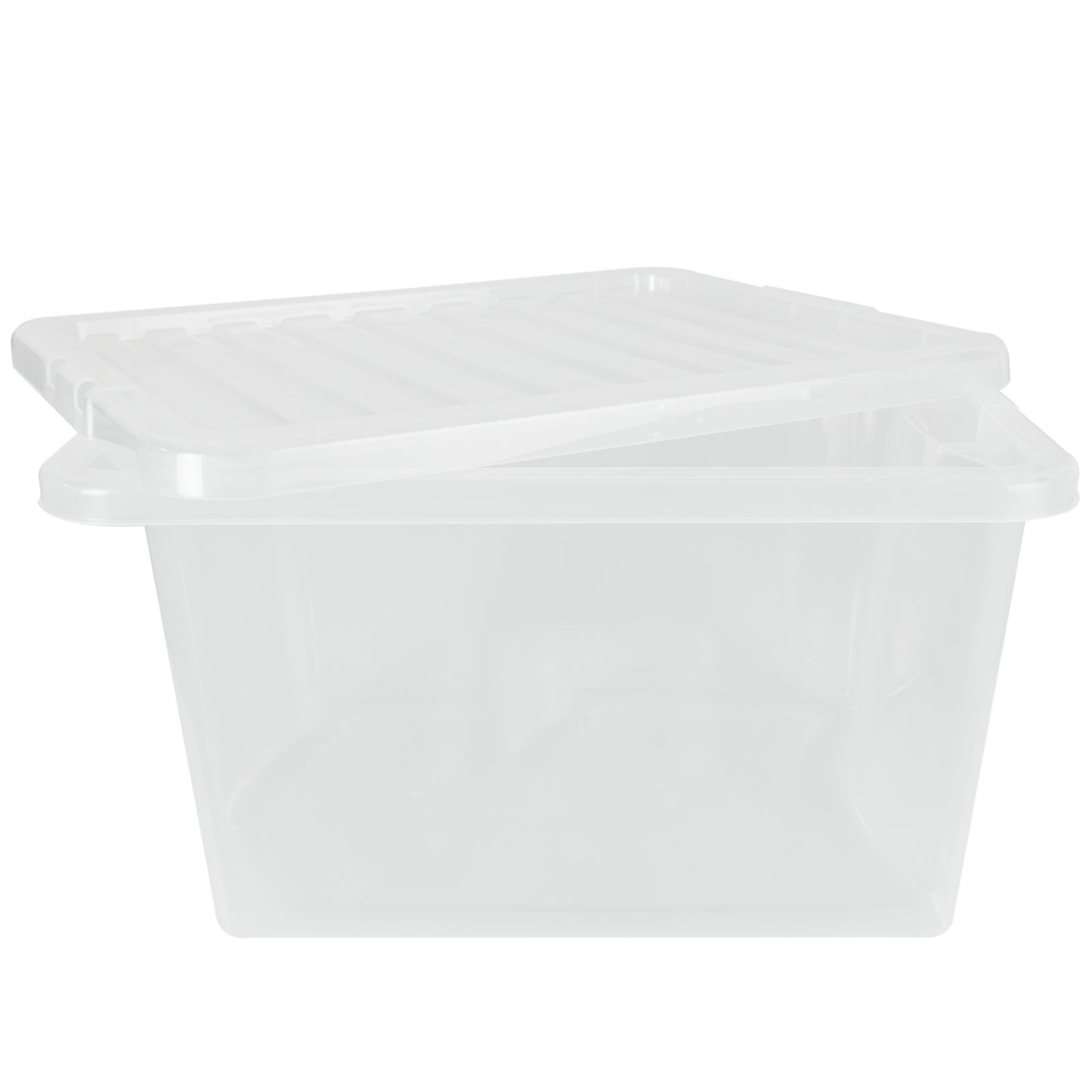 Wham-Crystal-Clear-Plastic-Storage-Box-Secure-Clip-on-Lid-Under-Bed-Space-Save thumbnail 32