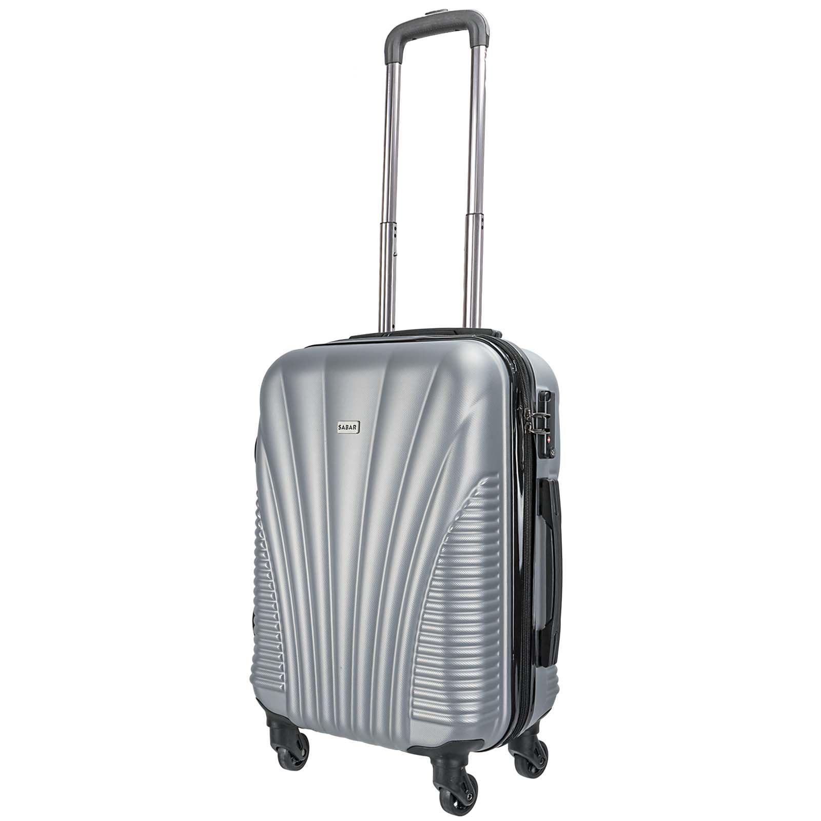 luggage set hard shell trolley suitcase spinner wheels. Black Bedroom Furniture Sets. Home Design Ideas