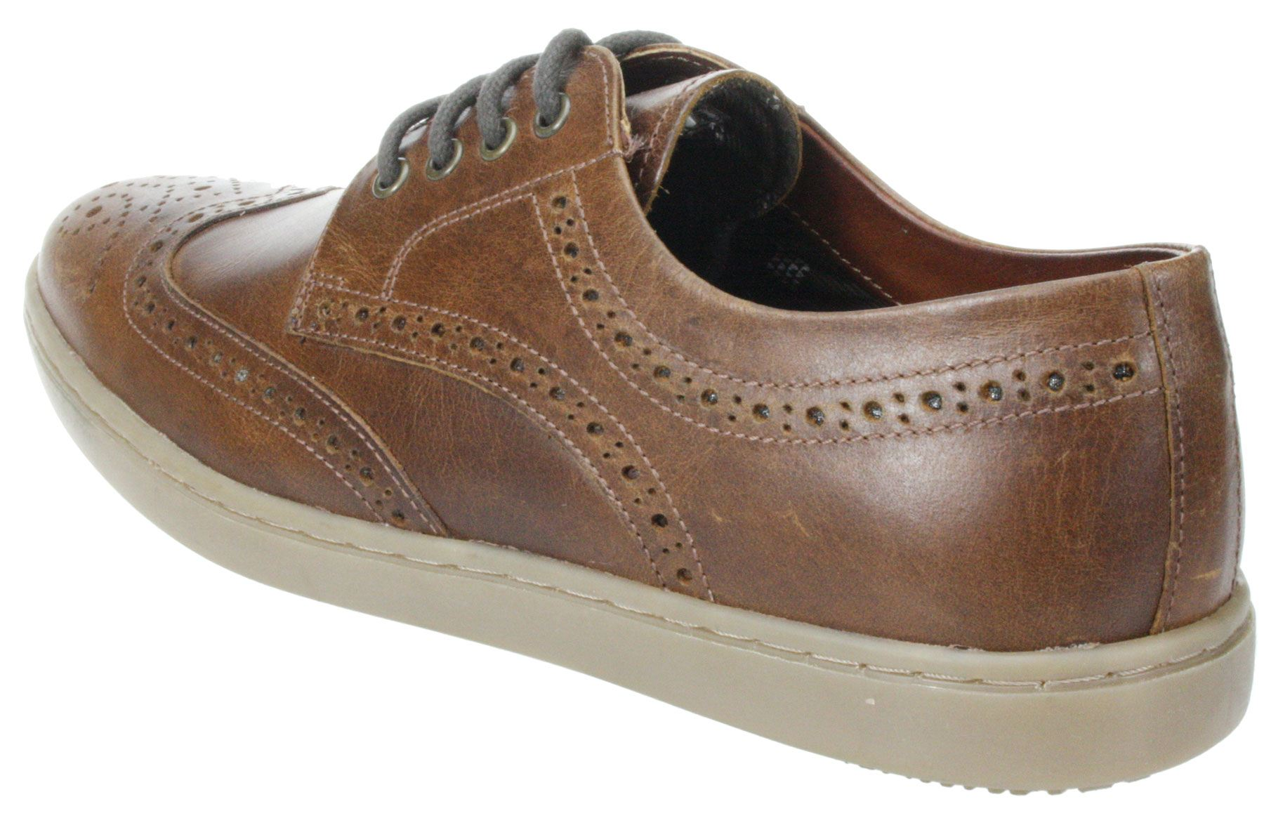 Mens Red tape Girvan Brown Navy lace up