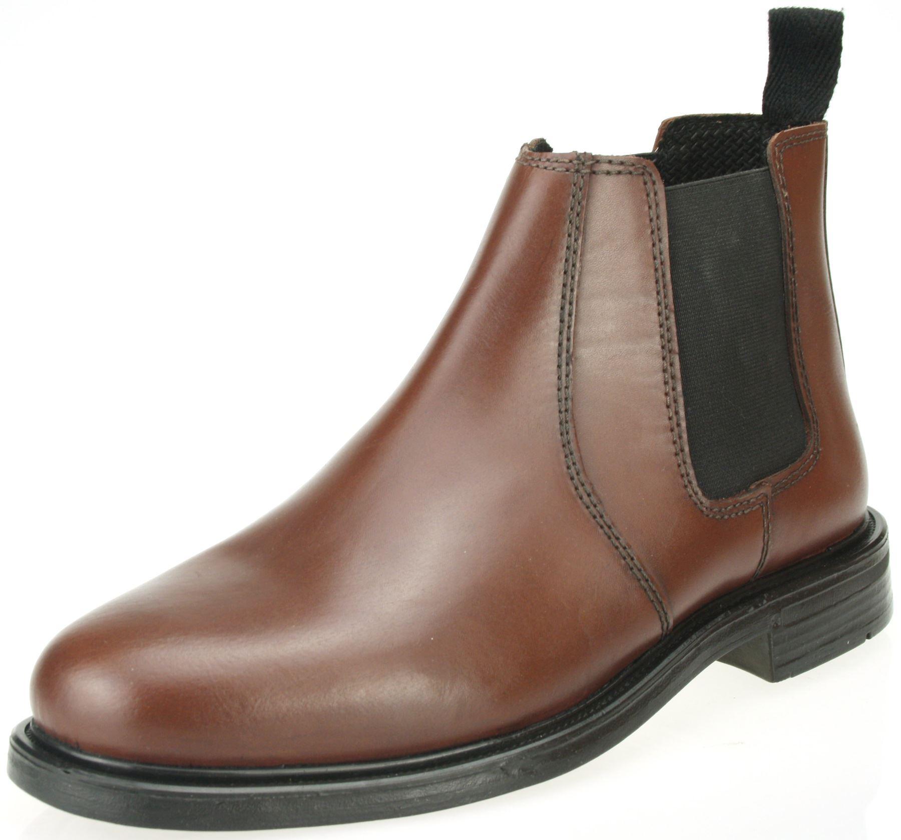 oaktrak mens bordo oxblood chestnut brown leather