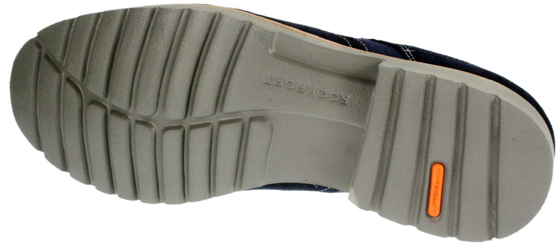 Rockport  Uomo K73347 Navy suede smart Leder lace up brogue smart suede schuhe 6c59b8