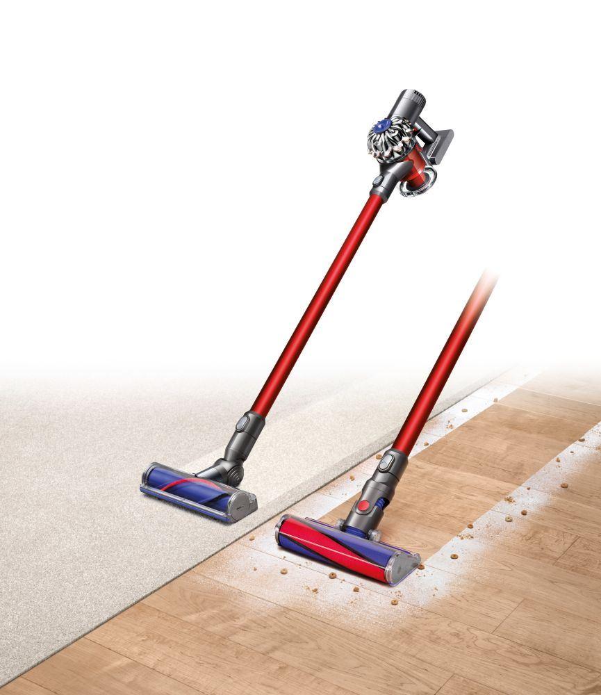 dyson v6 total clean cordless vacuum cleaner refurbished. Black Bedroom Furniture Sets. Home Design Ideas