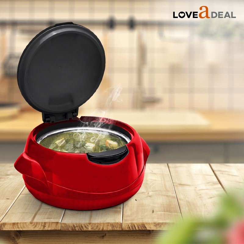 Microwaveable-Insulated-Lunch-Box-Hot-Pot-Food-Serving-Dish-Insulated-Casserole thumbnail 8