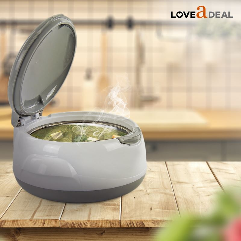 Microwaveable-Insulated-Lunch-Box-Hot-Pot-Food-Serving-Dish-Insulated-Casserole thumbnail 14