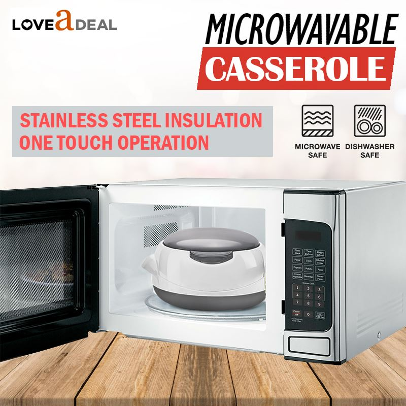 Microwaveable-Insulated-Lunch-Box-Hot-Pot-Food-Serving-Dish-Insulated-Casserole thumbnail 15