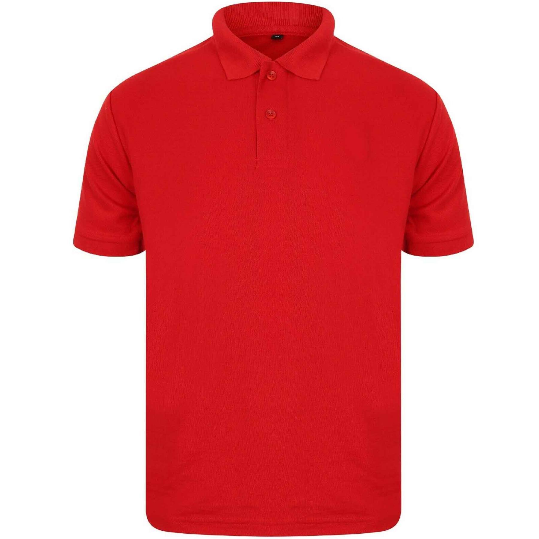 Indexbild 42 - Herren Polohemd Freizeit T-Shirts Neu Schlicht Kurzärmeliges Regular Fit