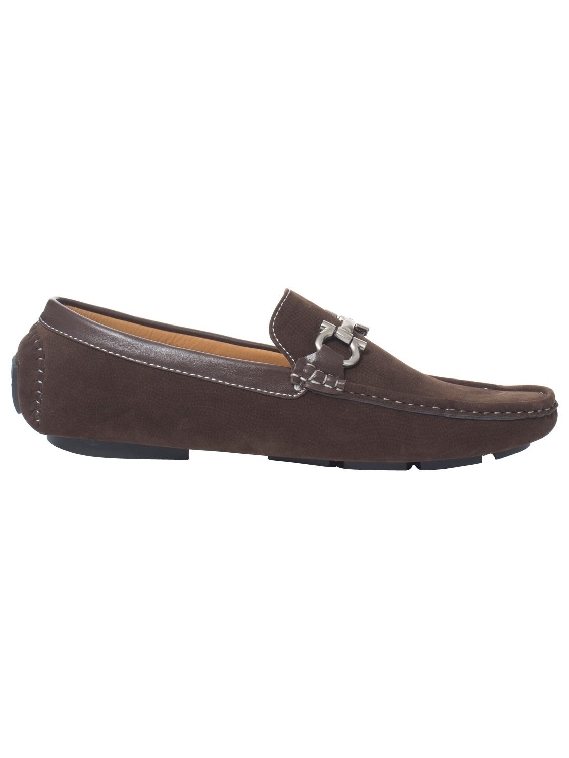 Mens-Slip-Ons-Shoes-Boat-Deck-Driving-Smart-Buckle-Moccasins-Suede-Look-Loafers thumbnail 78