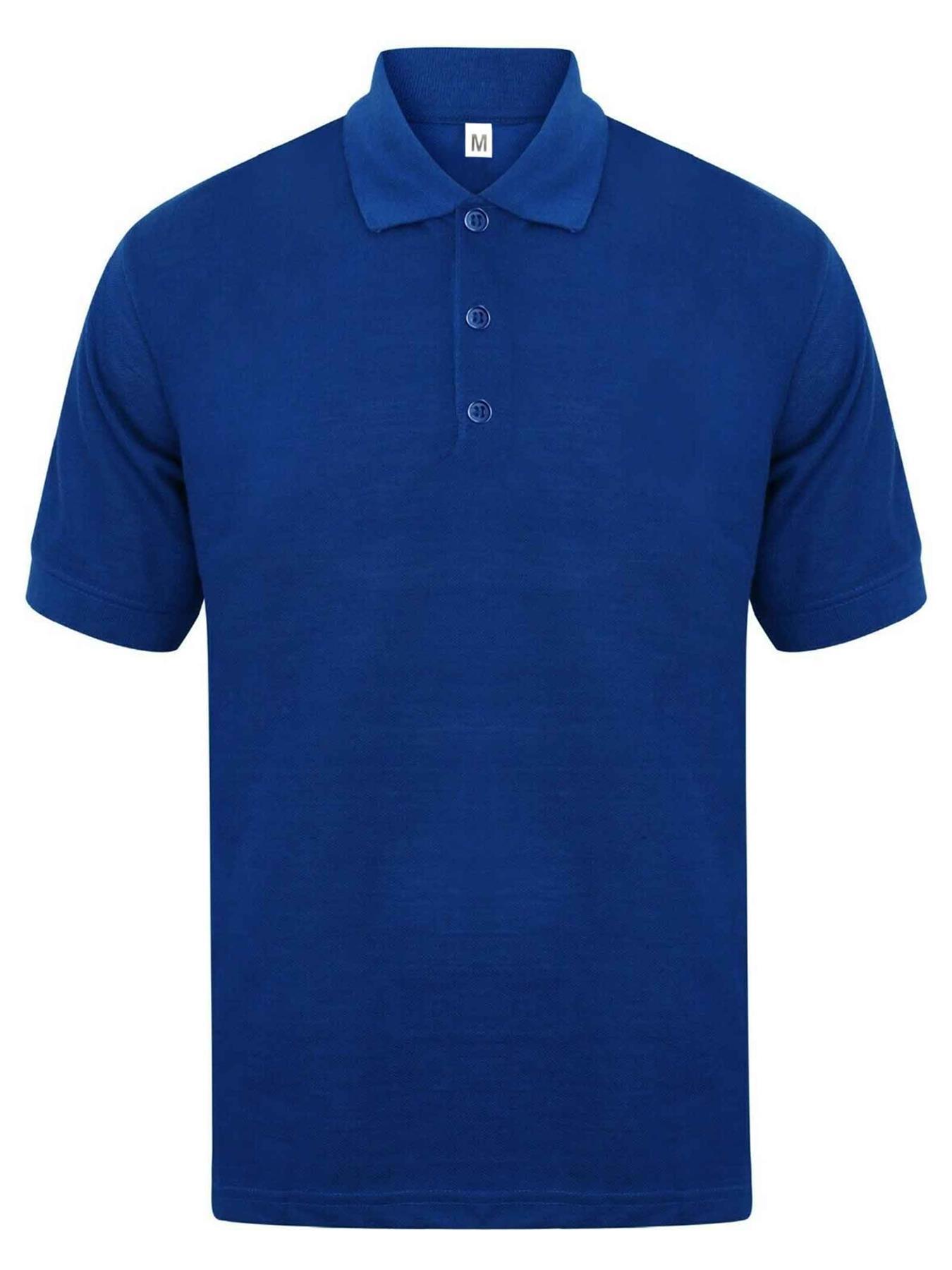 Indexbild 55 - Herren Polohemd Freizeit T-Shirts Neu Schlicht Kurzärmeliges Regular Fit