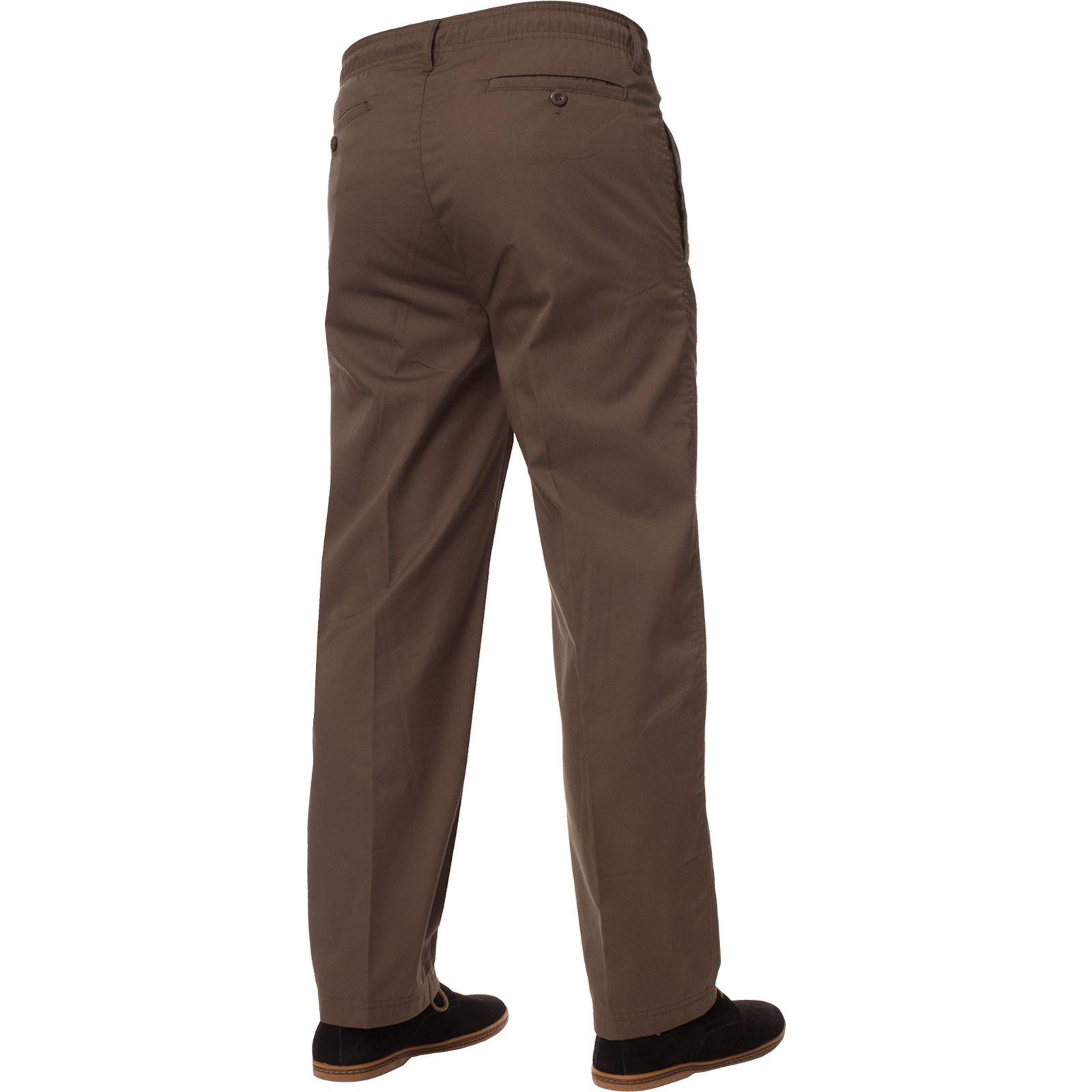 Para-Hombres-Pantalones-De-Rugby-Kruze-cintura-elastica-con-cordon-pantalones-REGULAR-King-Tamanos miniatura 16
