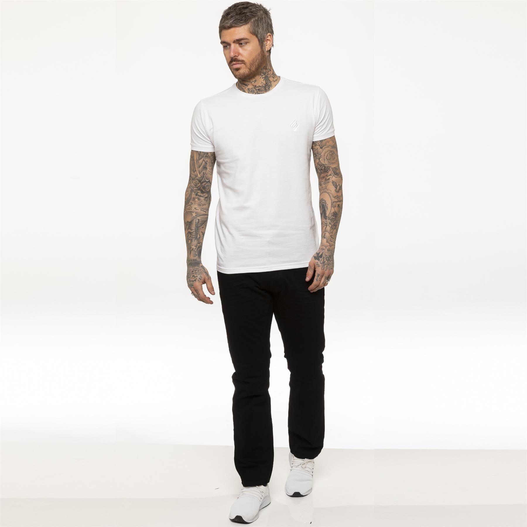 miniature 8 - Enzo pour homme coupe droite regular leg homme travail Denim Pantalon Toutes Tailles Tailles