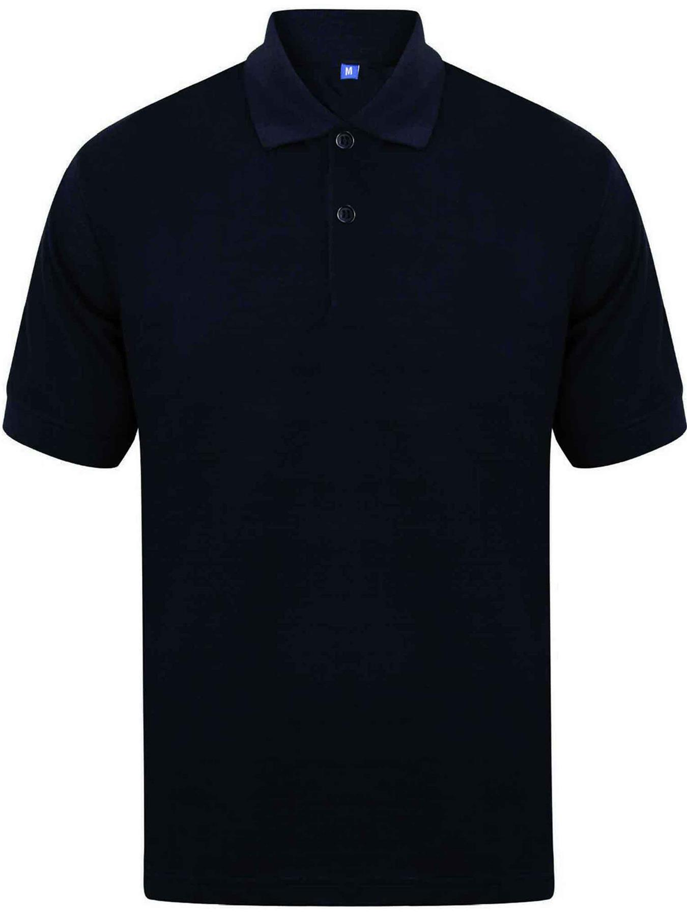 Indexbild 16 - Herren Polohemd Freizeit T-Shirts Neu Schlicht Kurzärmeliges Regular Fit