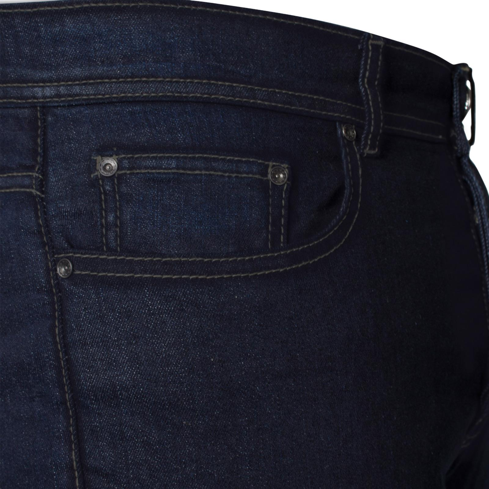 New-Enzo-Mens-Designer-Bootcut-Wide-Leg-Jeans-Flared-Stretch-Denim-All-Waists thumbnail 20