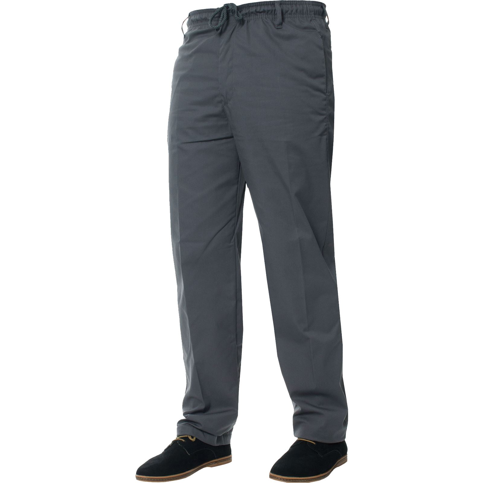 Para-Hombres-Pantalones-De-Rugby-Kruze-cintura-elastica-con-cordon-pantalones-REGULAR-King-Tamanos miniatura 26
