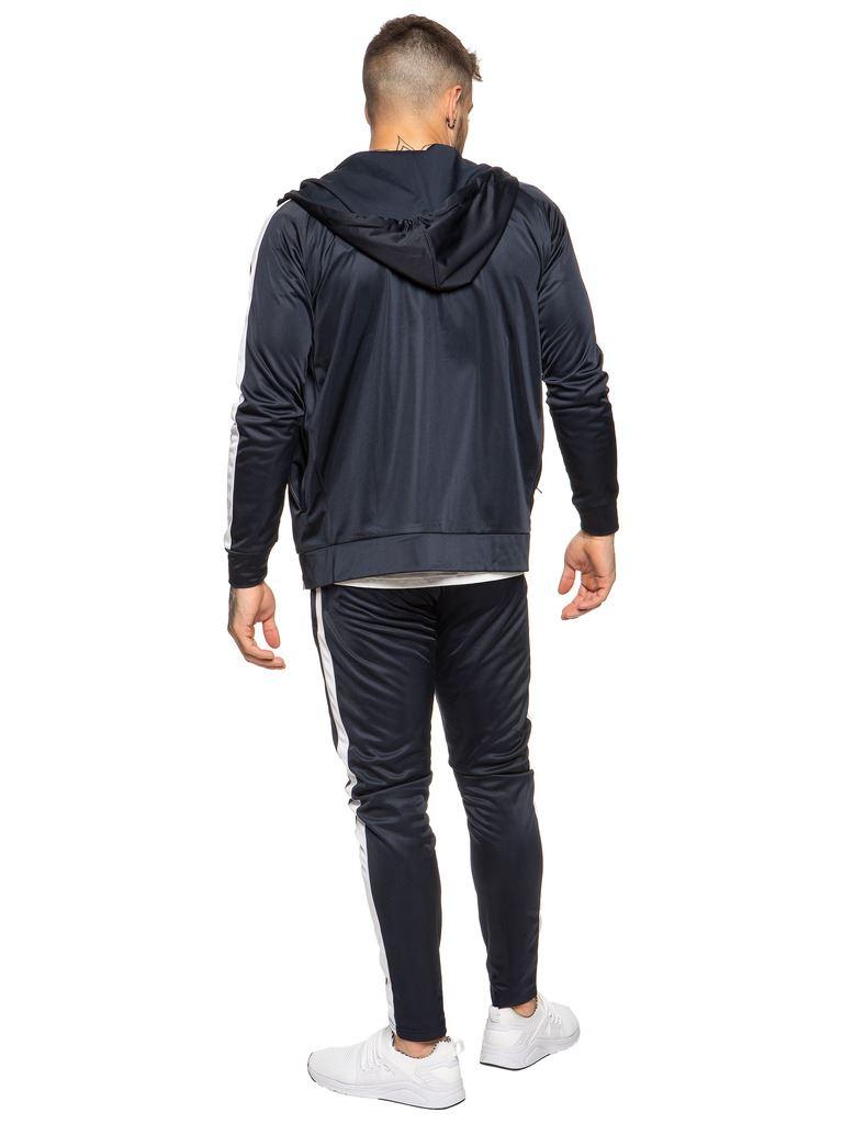 New-Enzo-Mens-Full-Tracksuit-Set-Slim-Fit-Zip-Up-Sweat-Hoodie-Jogging-Bottoms thumbnail 19