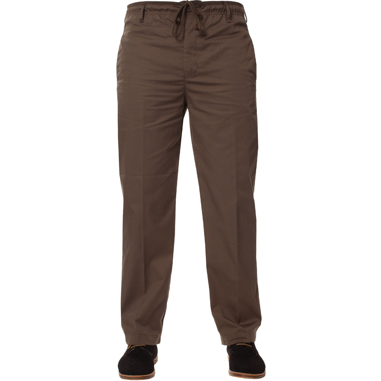Para-Hombres-Pantalones-De-Rugby-Kruze-cintura-elastica-con-cordon-pantalones-REGULAR-King-Tamanos miniatura 13