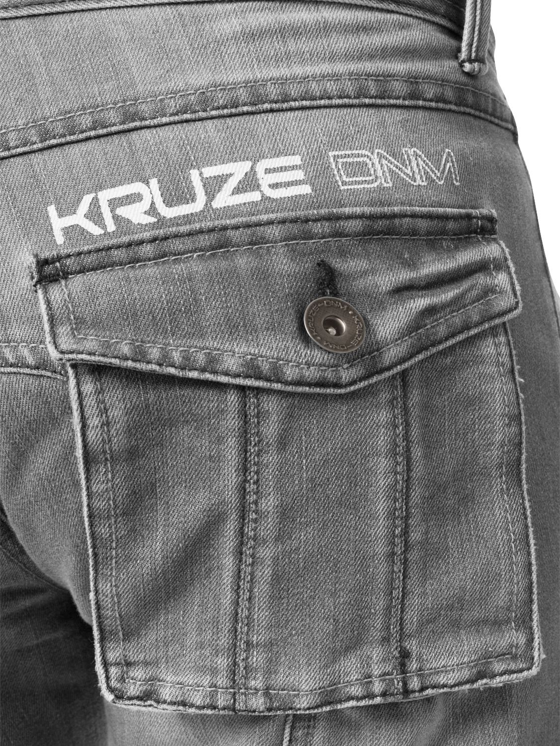 KRUZE-Mens-Combat-Jeans-Casual-Cargo-Work-Pants-Denim-Trousers-All-Waist-Sizes thumbnail 32