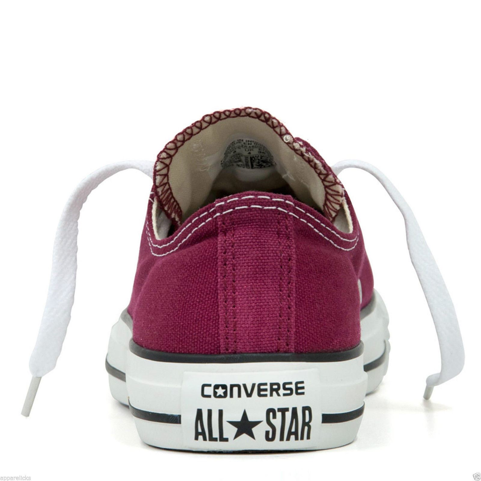Converse-All-Star-Chuck-Taylor-Mens-Womens-Trainers-Lo-Tops-Pumps-Unisex-Sneaker thumbnail 20