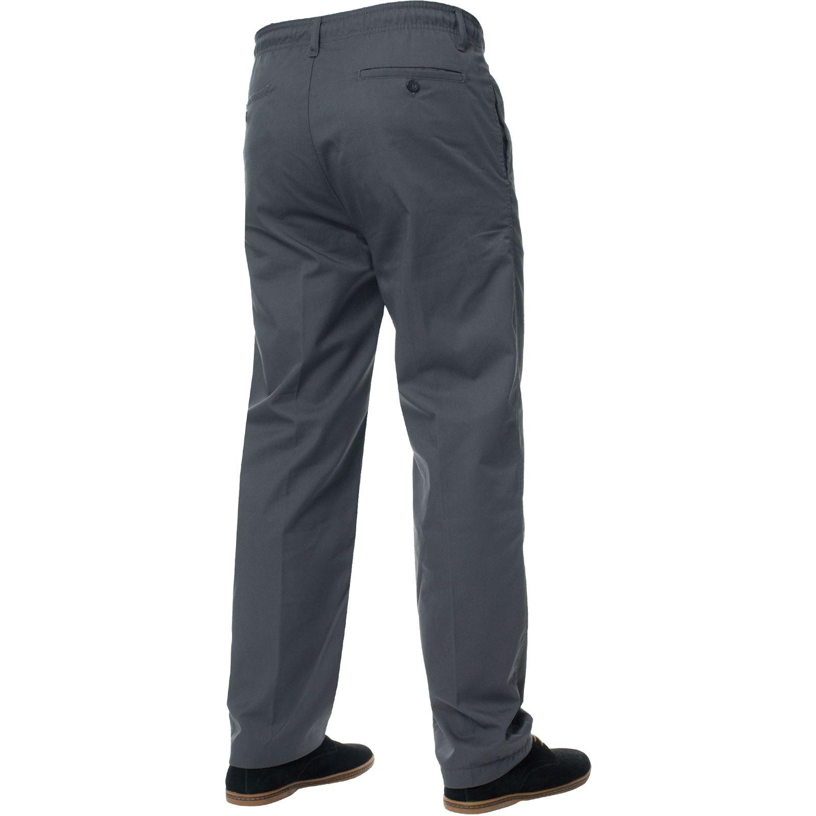 Kruze-Mens-Rugby-Trousers-Elasticated-Waist-Drawstring-Pants-Regular-King-Sizes thumbnail 21