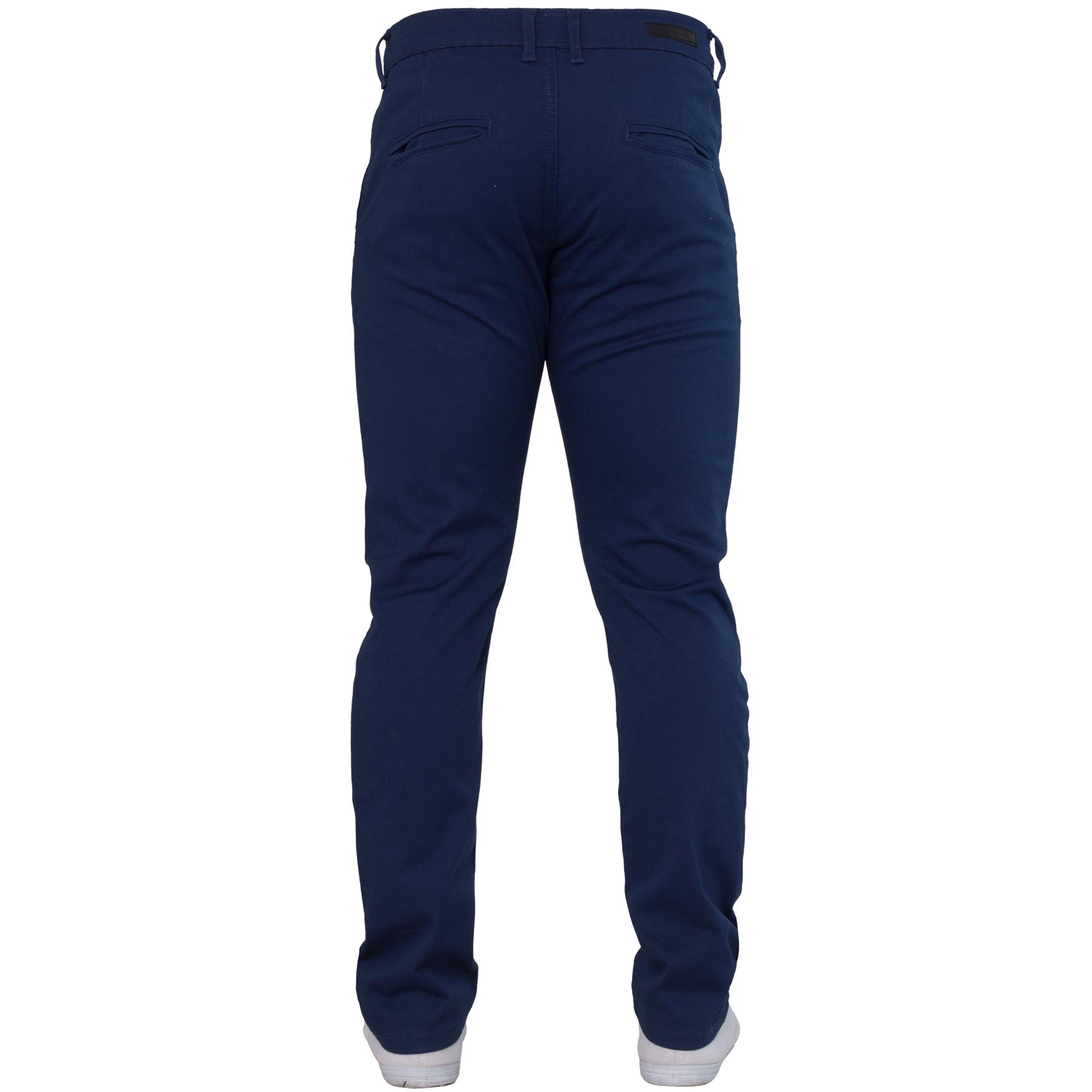 Enzo-Mens-Jeans-Big-Tall-Leg-King-Size-Denim-Pants-Chino-Trousers-Waist-44-034-60-034 miniature 41
