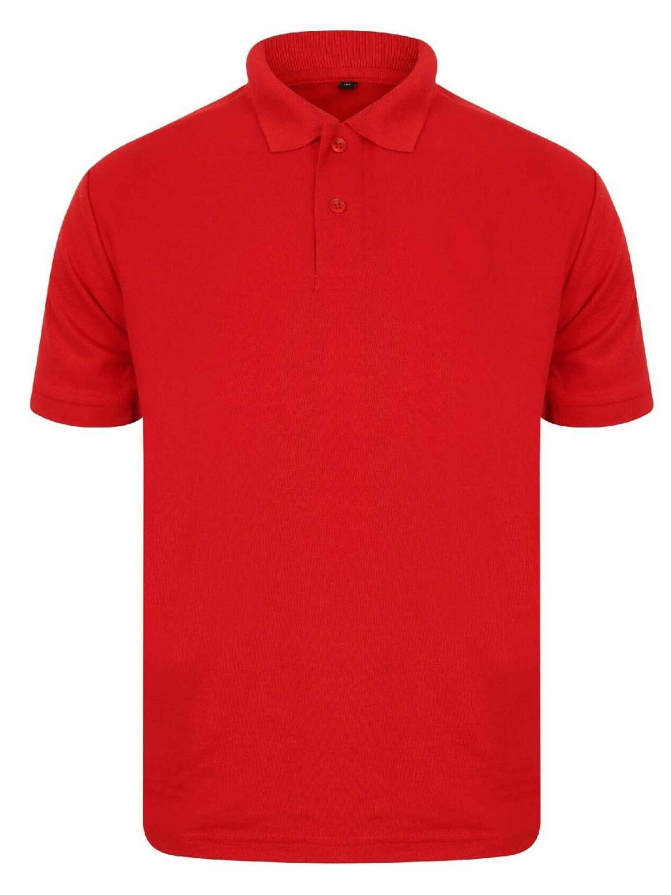 Indexbild 44 - Herren Polohemd Freizeit T-Shirts Neu Schlicht Kurzärmeliges Regular Fit