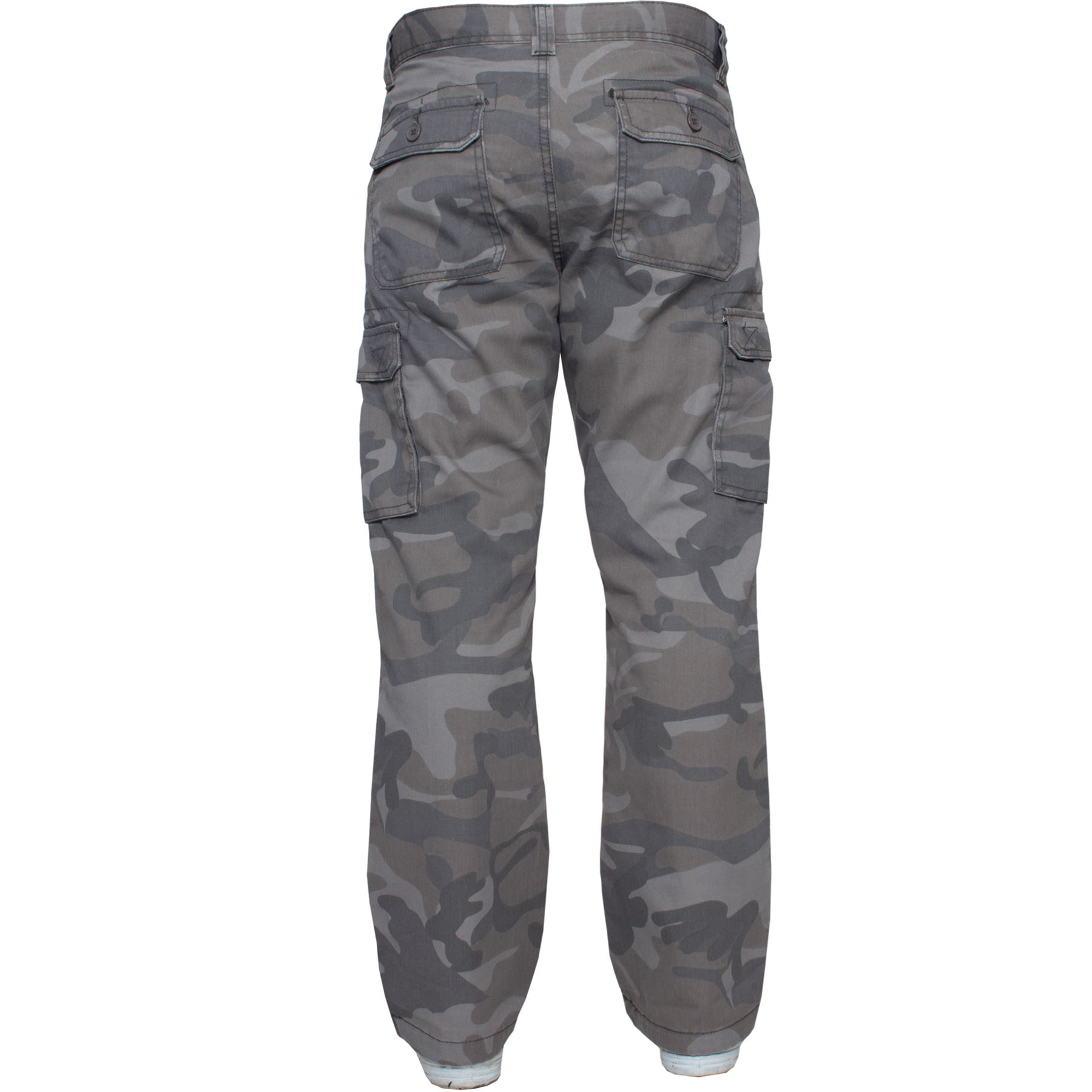 Kruze-Mens-Military-Combat-Trousers-Camouflage-Cargo-Camo-Army-Casual-Work-Pants miniatura 13