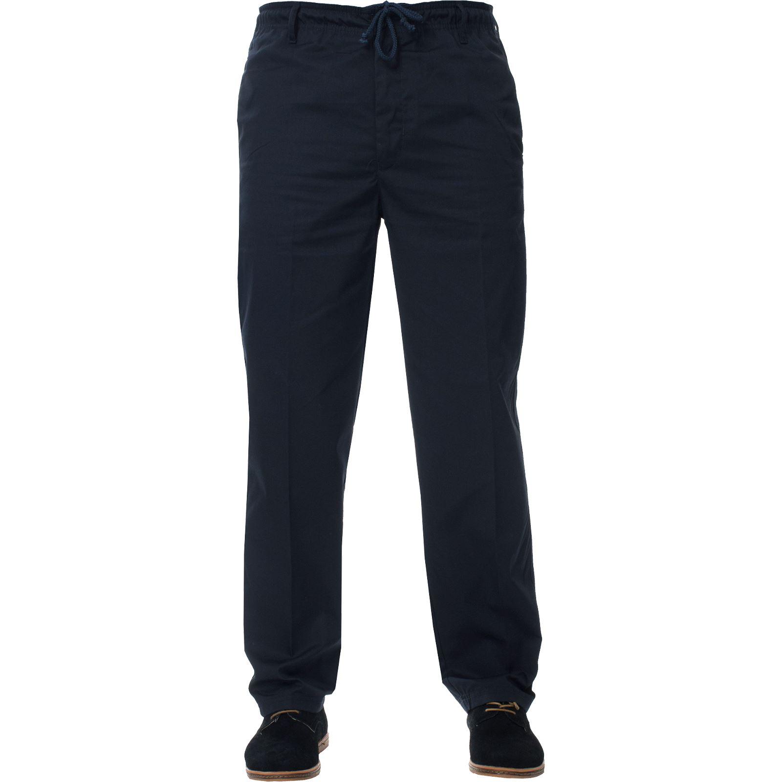 Para-Hombres-Pantalones-De-Rugby-Kruze-cintura-elastica-con-cordon-pantalones-REGULAR-King-Tamanos miniatura 8