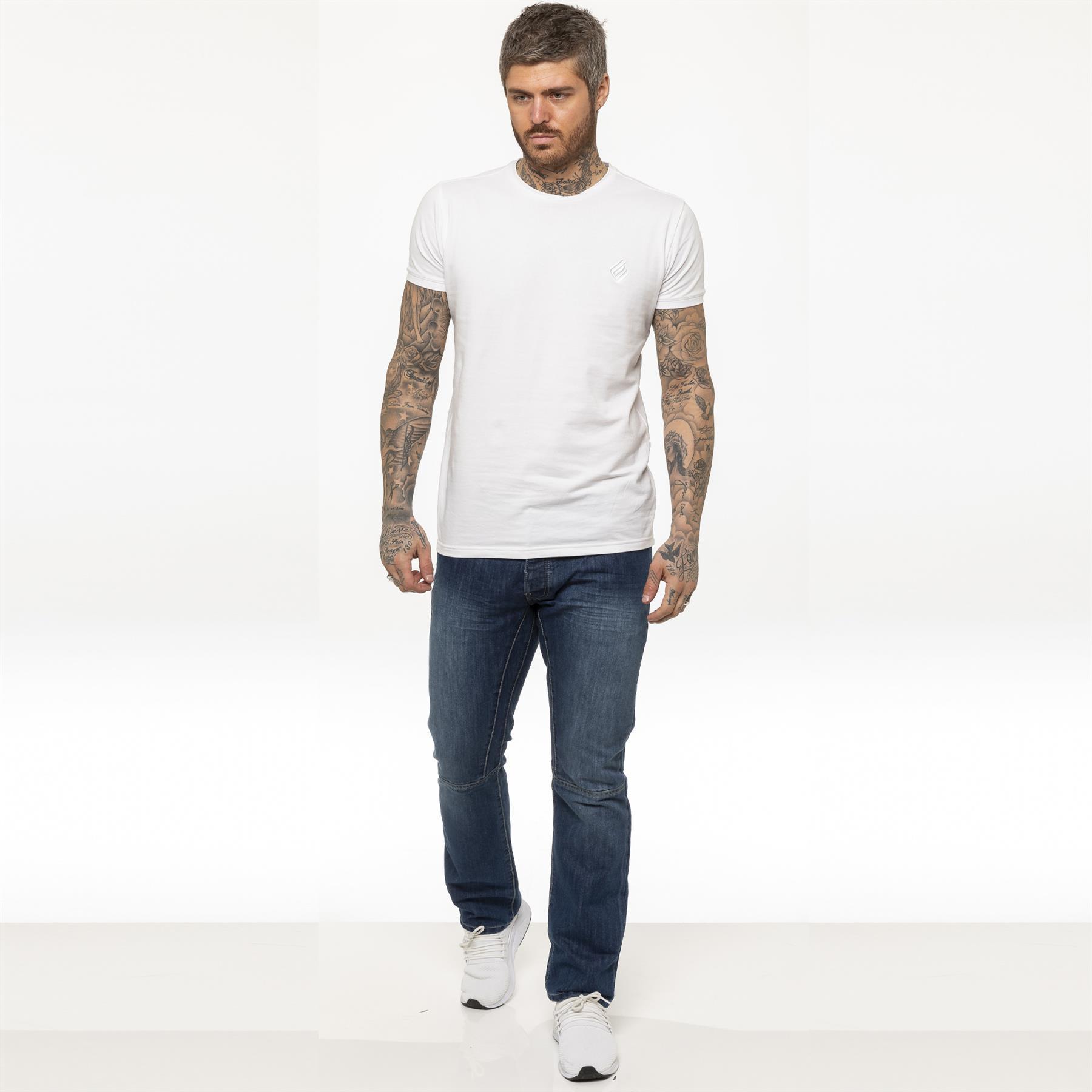 miniature 14 - Enzo pour homme coupe droite regular leg homme travail Denim Pantalon Toutes Tailles Tailles