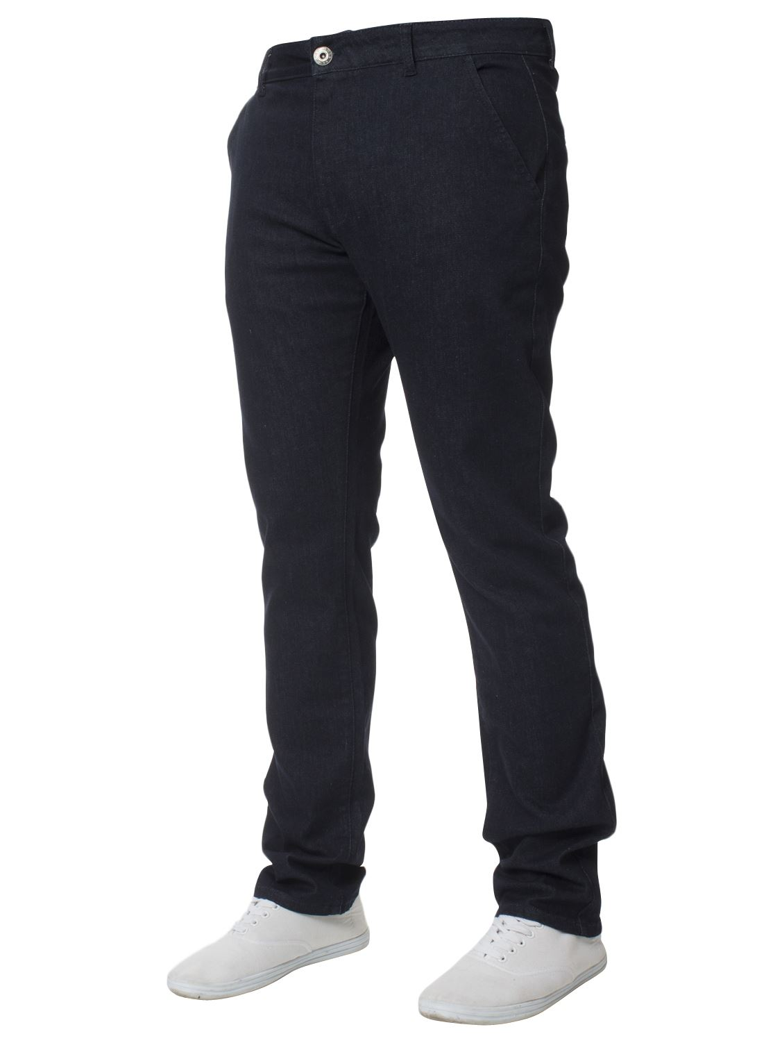 New-Mens-Enzo-Jeans-Denim-Chinos-Skinny-Slim-Fit-Super-Stretch-Trousers-Pants thumbnail 8