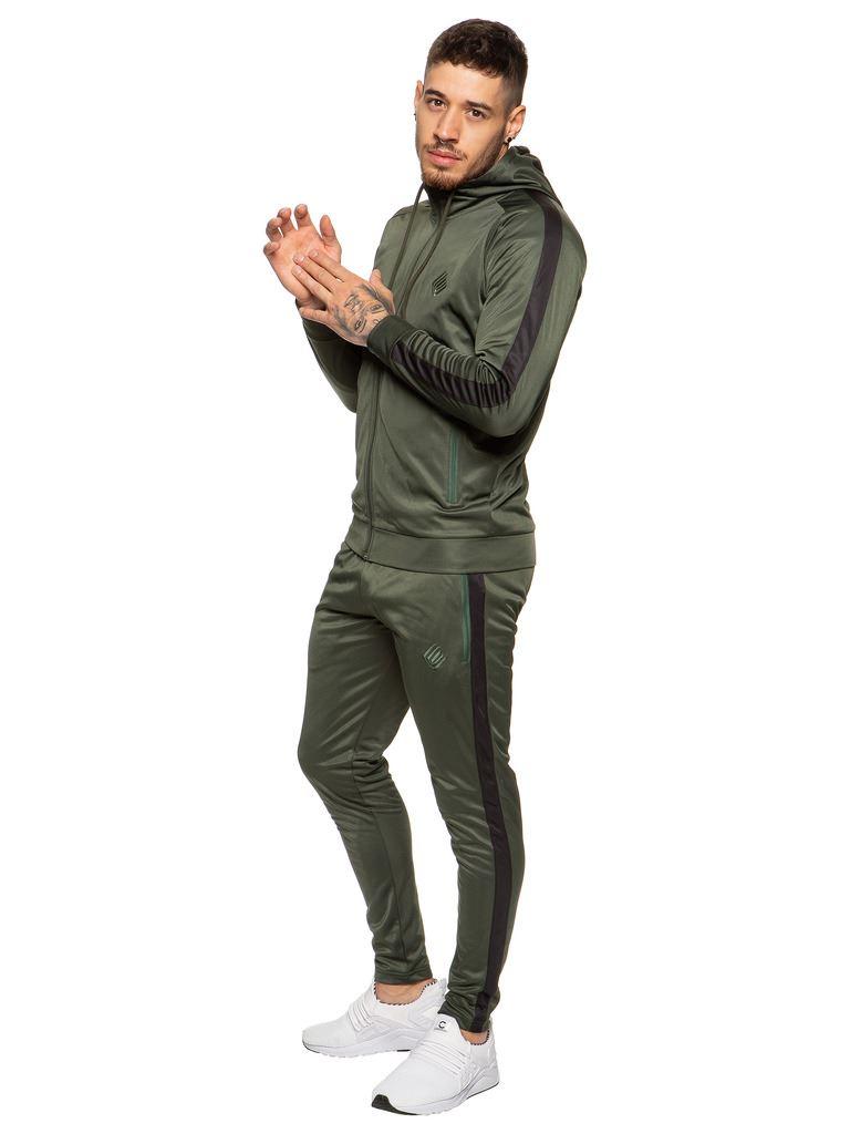 New-Enzo-Mens-Full-Tracksuit-Set-Slim-Fit-Zip-Up-Sweat-Hoodie-Jogging-Bottoms thumbnail 27