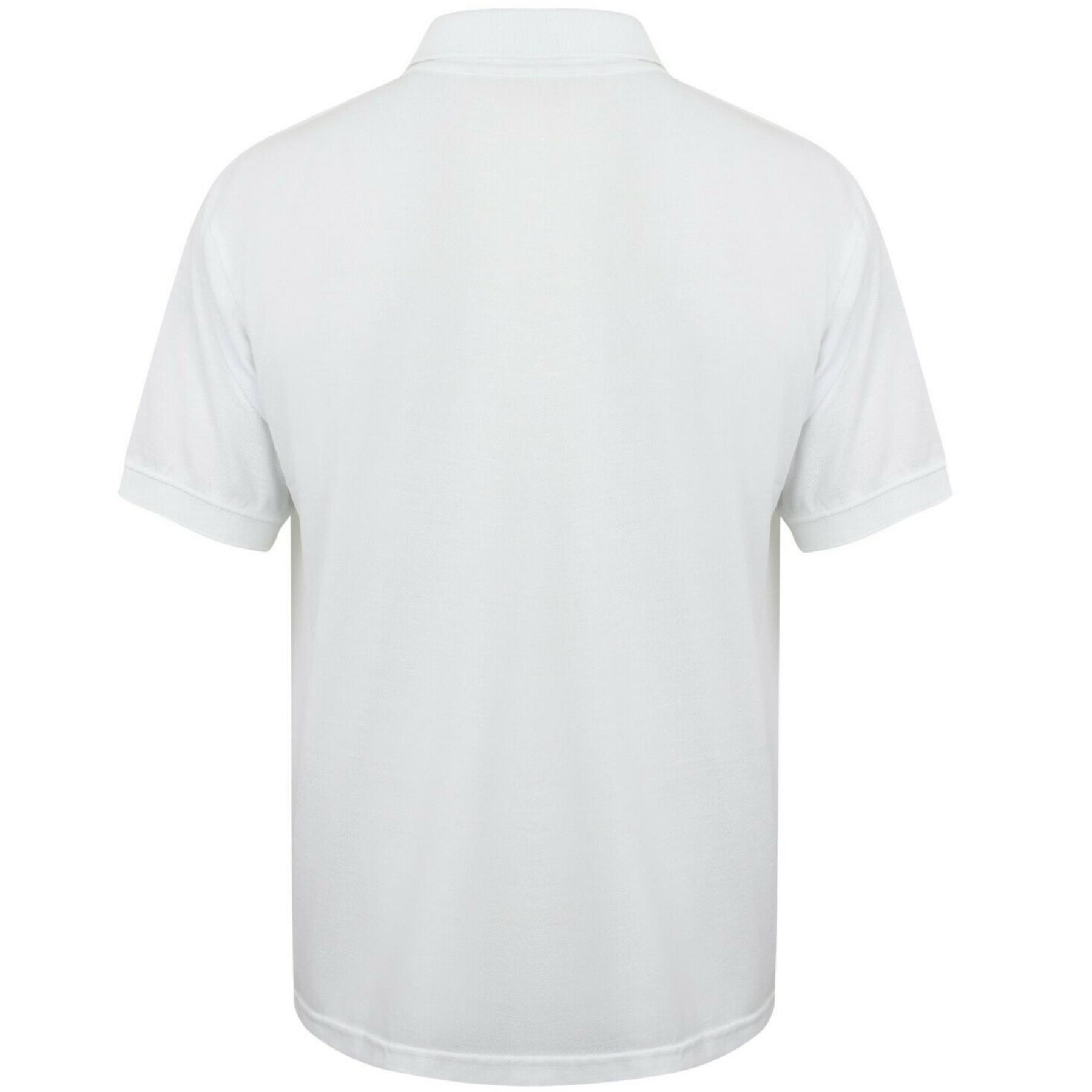 Indexbild 63 - Herren Polohemd Freizeit T-Shirts Neu Schlicht Kurzärmeliges Regular Fit