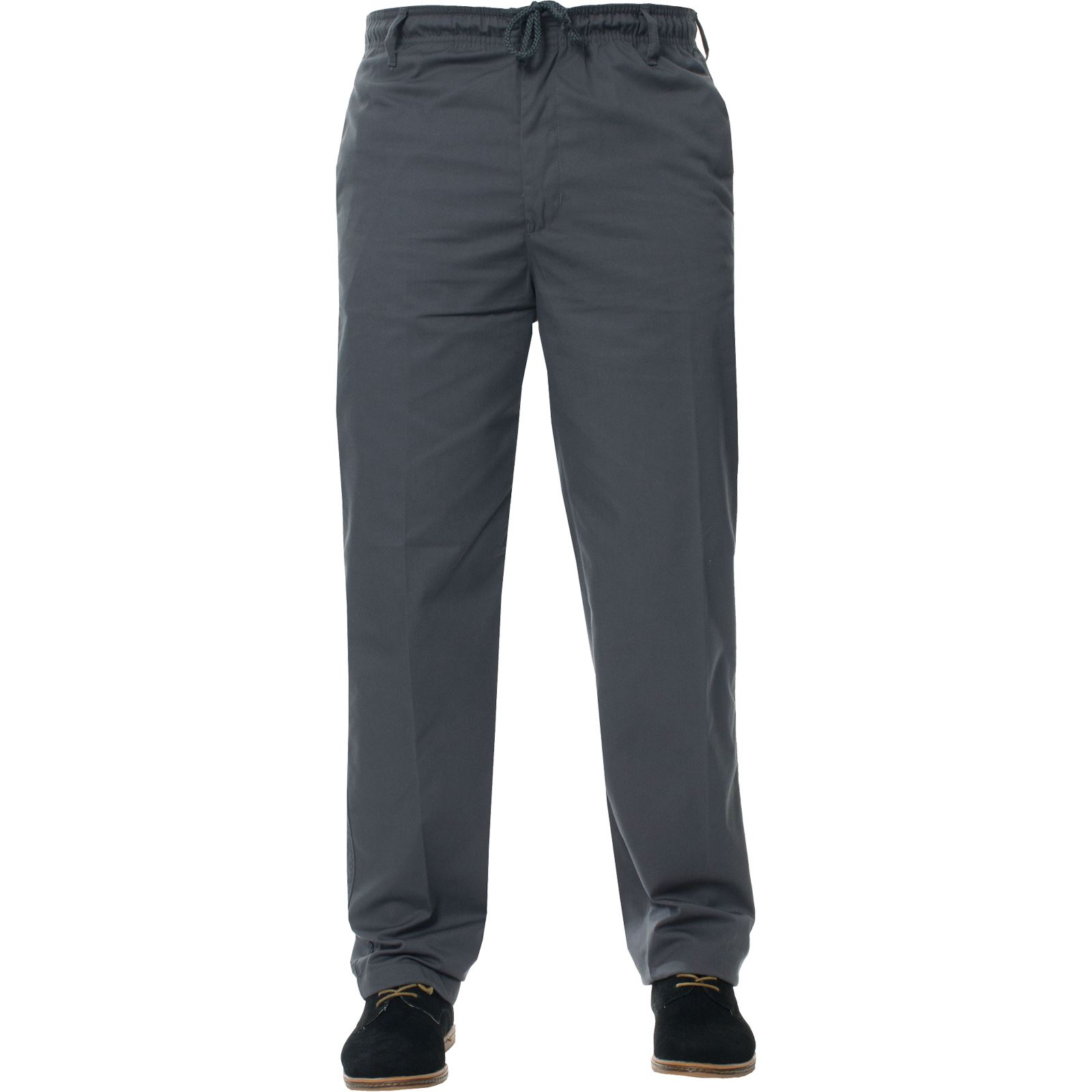 Para-Hombres-Pantalones-De-Rugby-Kruze-cintura-elastica-con-cordon-pantalones-REGULAR-King-Tamanos miniatura 24