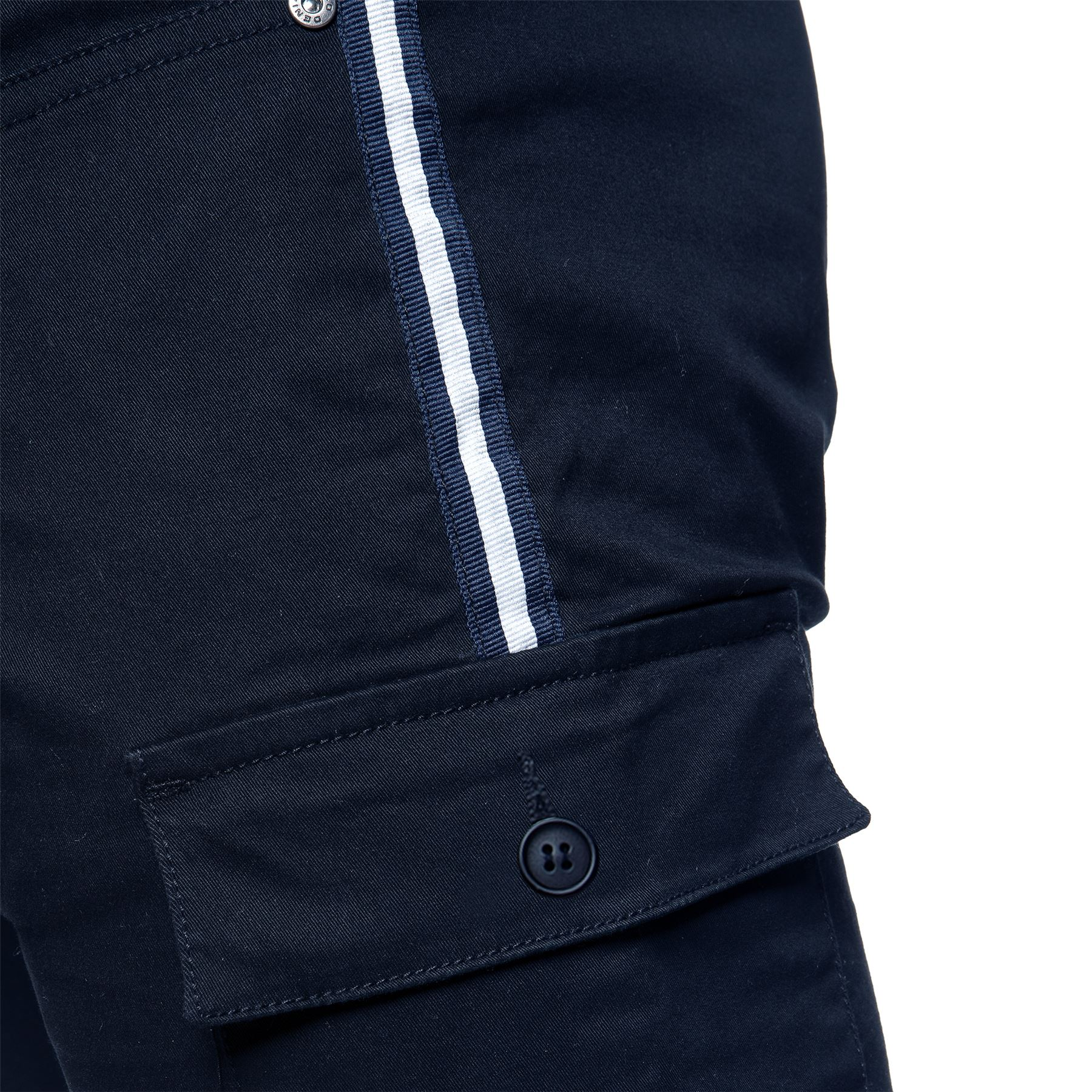 Enzo-Jeans-Mens-Combat-Trousers-Cargo-Chinos-Slim-Stretch-Cuffed-Joggers-Pants thumbnail 12