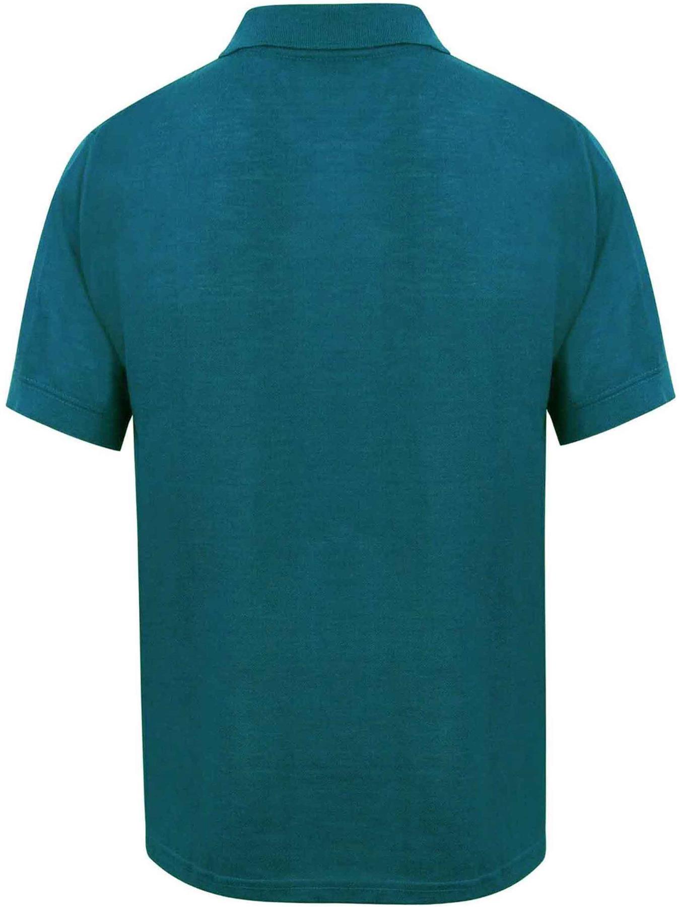 Indexbild 36 - Herren Polohemd Freizeit T-Shirts Neu Schlicht Kurzärmeliges Regular Fit